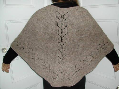 My Faroese/Icelandic shawl