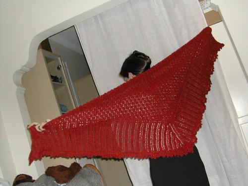 Highland shawl
