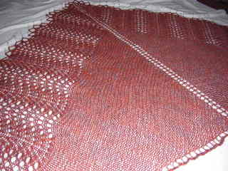 New/old shale shawl