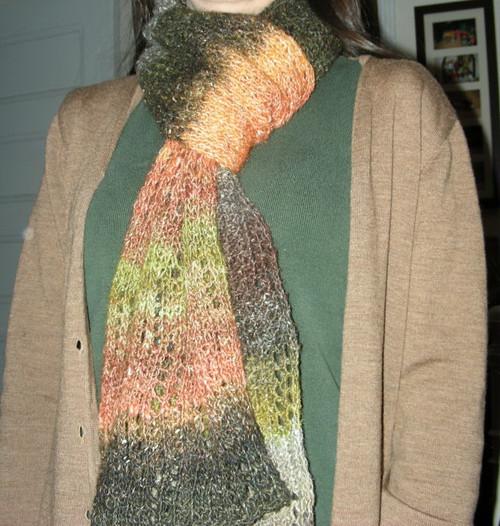 Noro Silk Garden Lite scarf