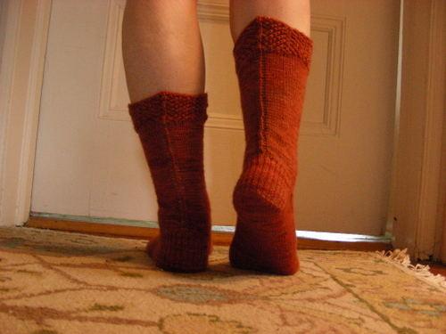 Paprika socks