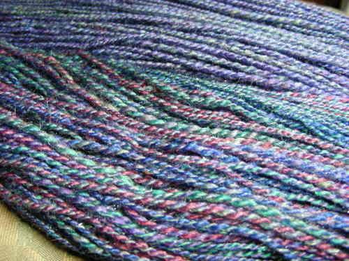Blue FF sock yarns