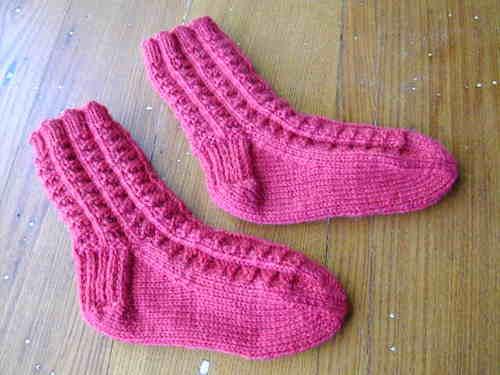 Fluted Bannister CIC socks